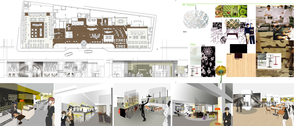 Design for Royal Crown Hotel, Brussels in association with Doos Architects Sweden