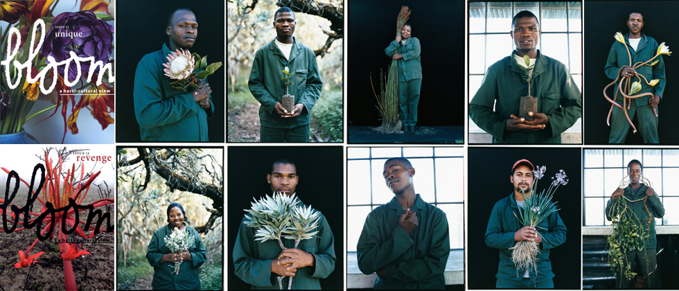 Grootbos Green Futures students featured in Bloom magazine 13 & 14, by Li Edelkoort