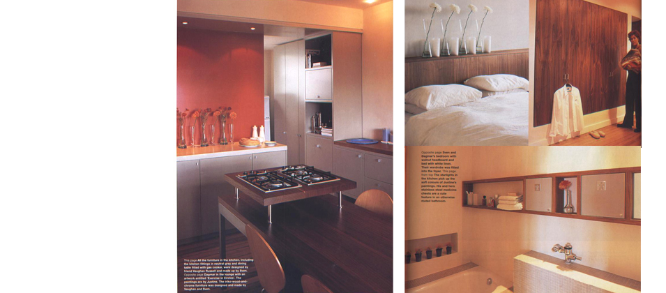 House & Leisure feature November 2001, City apartment 2, Cape Town